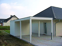 leistungen carports carport m nster gartenhaus. Black Bedroom Furniture Sets. Home Design Ideas